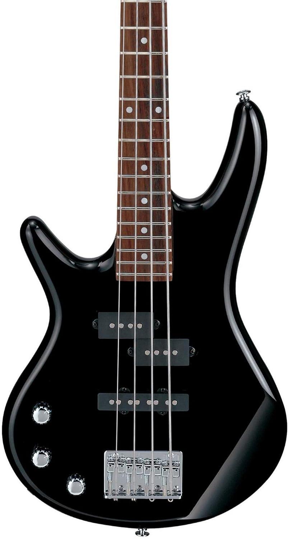 Ibanez GSRM20L Mikro Left-Handed 4-String Short Scale Bass Guitar Black GSRM20BKL