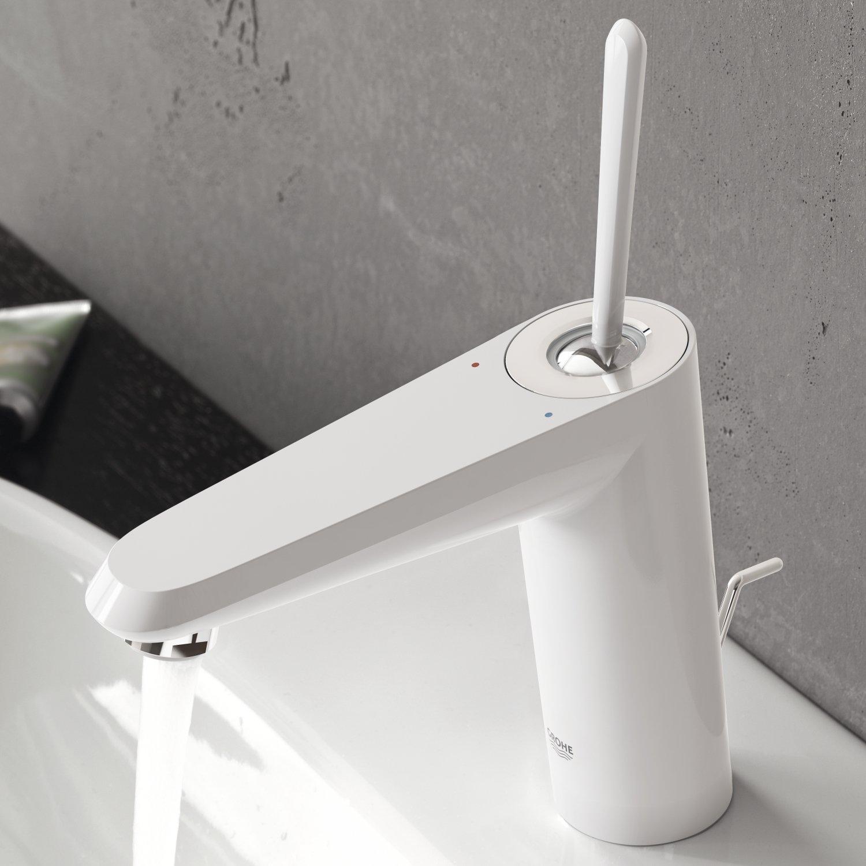 Grifo de lavabo  color cromo tama/ño XL Ref Grohe Eurodisc 23428000