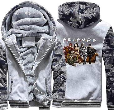 メンズフーディーフルジッパープリントベルベットパッド入りフード付きセーターコートフリースフーディー、冬に適しています