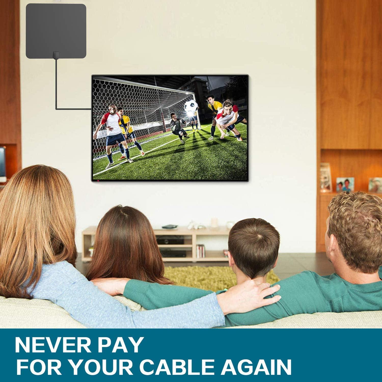 Antena de TV para Interior de Sukses HDTV, Antena Digital de 60 a ...
