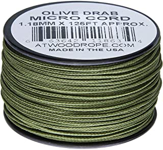 product image for Atwood Rope MFG Micro Cord 125ft Olive Drab