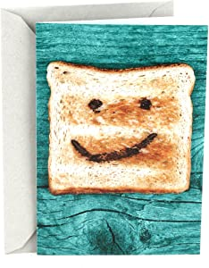 Hallmark Shoebox Funny Congratulations Card or Graduation Card (Toast)