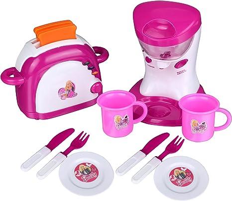Teamyy Niños Cocina Tostadora y licuadora Juego Set Color Rosa ...