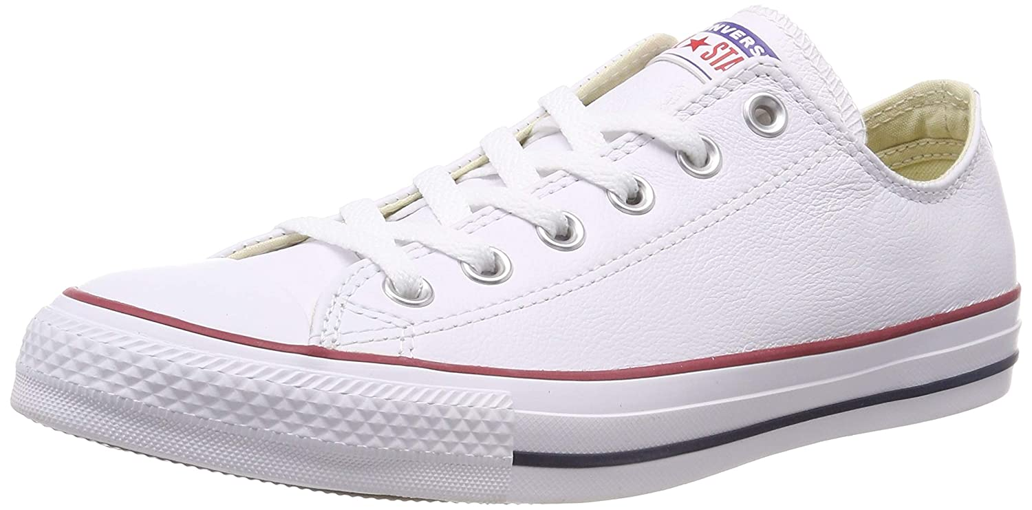 5ecb1a483a42 Converse Unisex Chuck Taylor All Star Leather Ox Fashion Sneaker  Buy  Online at Low Prices in India - Amazon.in