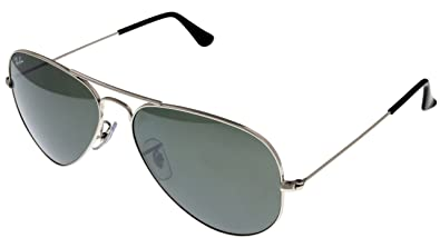 ffe4b3269f Image Unavailable. Image not available for. Color  Ray Ban Sunglasses  Aviator Palladium Mirrored Unisex RB3025 W3277 58