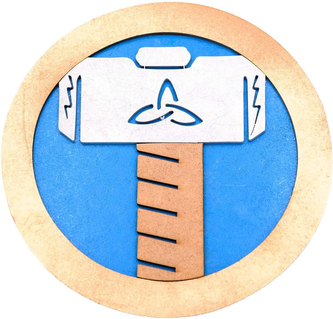 Tapete 3D Sapiens o base protectora para cachimba - Thor