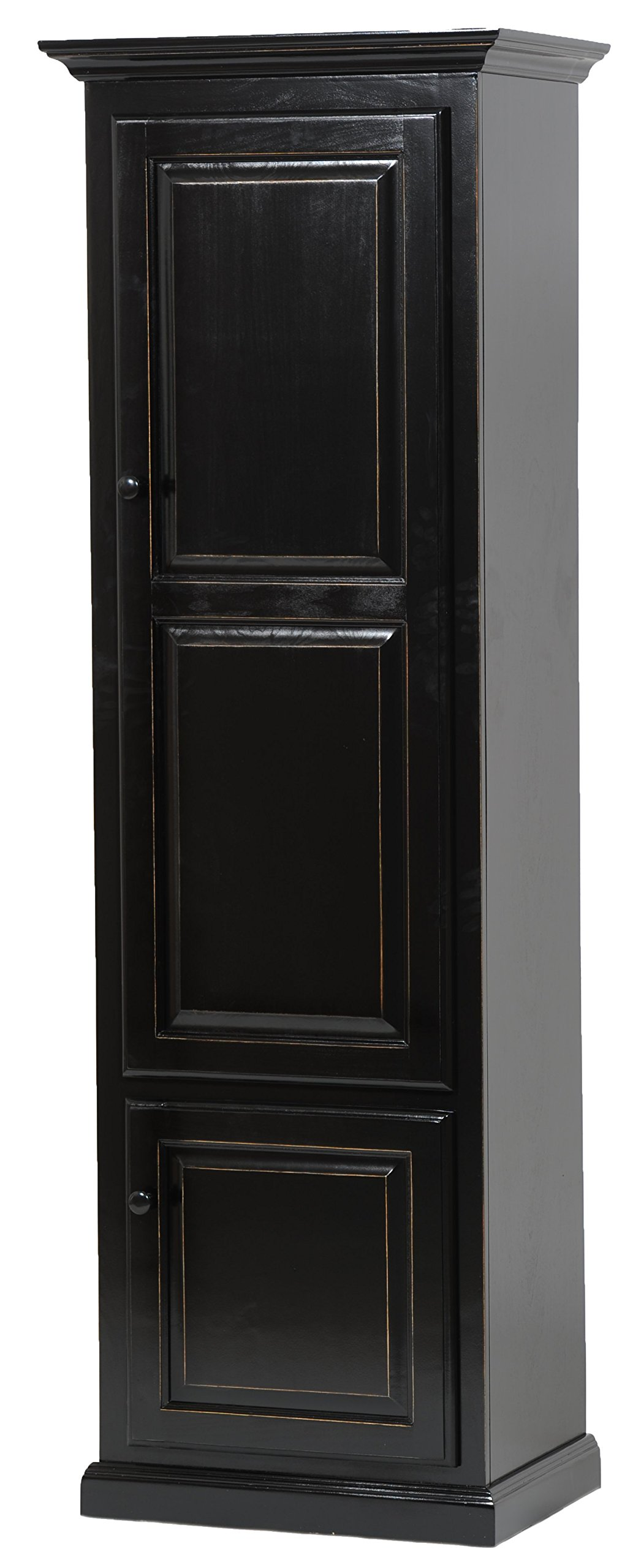 American Heartland #95789GY Poplar Single Door Pantry, Grey