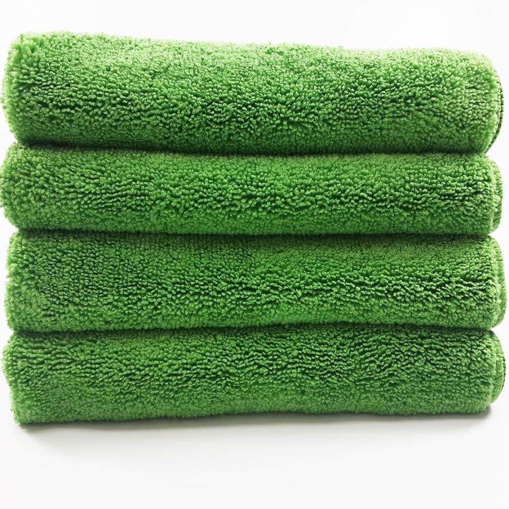 """Best absorbent 14x14/"""" 4 NANO Technology Super ultra microfiber cleaning cloth"""