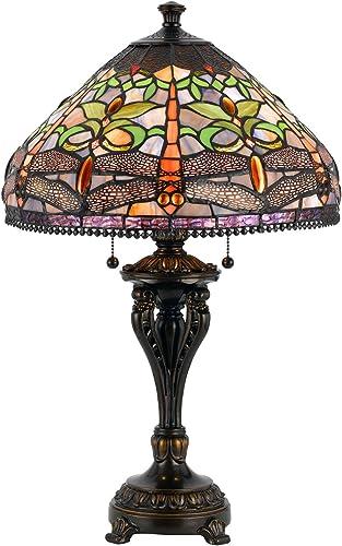 Cal Lighting BO-2355TB Two Light Table Lamp