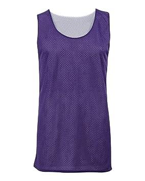 fd795100facfe Purple White Youth Small Reversible Mesh Tank Top Jersey Uniform ...