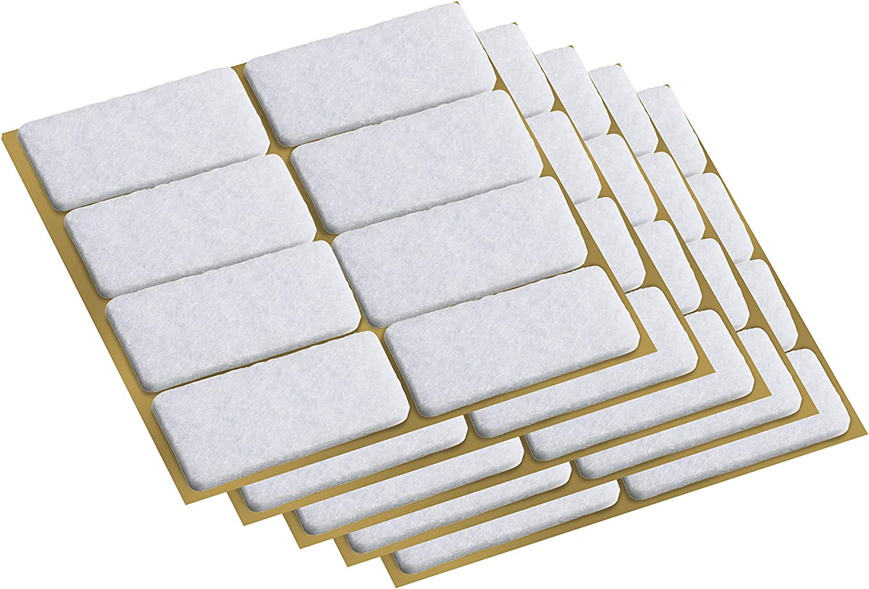 tesa Protect Filzgleiter braun Maße 100 x 80 mm 1 Stück