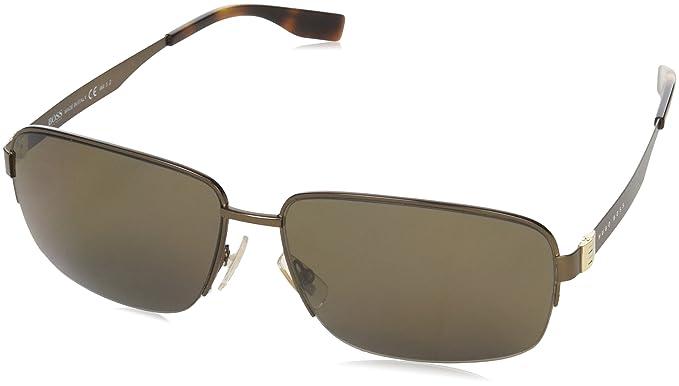 BOSS Hugo 0619/F/S SP Q7X Gafas de sol, Marrón (Matte Brown ...