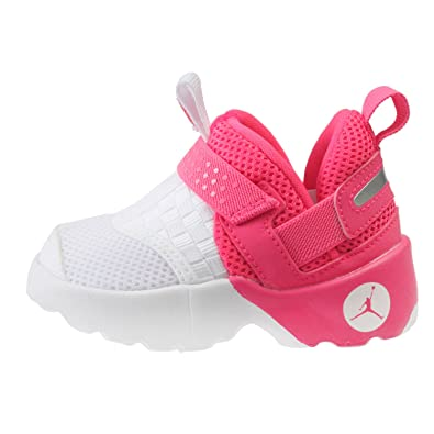 f98928b55418 Amazon.com  Jordan Toddler Trunner LX Shoes Hyper Pink White Size 5  Shoes