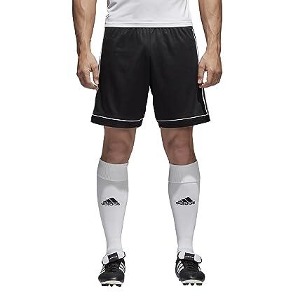 size 40 93876 badbd adidas Men s Soccer Squadra 17 Shorts, Black White, X-Small