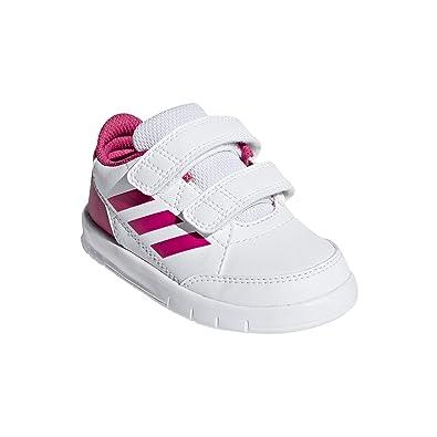 huge discount a789b 50771 adidas AltaSport CF I, Chaussures de Gymnastique Mixte bébé, Blanc FTWR  White Real Magenta