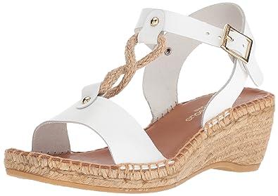 6ff22e092c7 Amazon.com   Andre Assous Women's Camila Espadrille Wedge Sandal ...