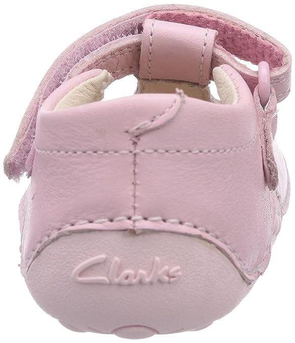 602352cddd5289 Clarks Little Linzi, Chaussures premiers pas pour bébé (fille) - Rose -  Pink (Baby Pink Lea), 20.5 EU: Amazon.fr: Chaussures et Sacs