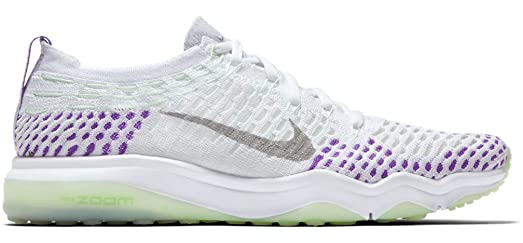 Nike Air Zoom Fearless Flyknit Chrome Blush Womens Training Shoe  httpshopstyle