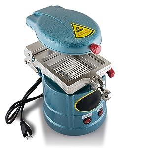 Dental Vacuum Forming Molding Machine 1000W Former Heat Molding Tool Steel Balls Lab Equipment 110V