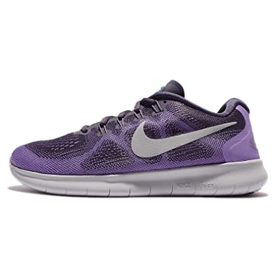 on sale 9404e 2c64c Nike Women's Free RN 2017 Running Shoes (11, Purple/White-M)