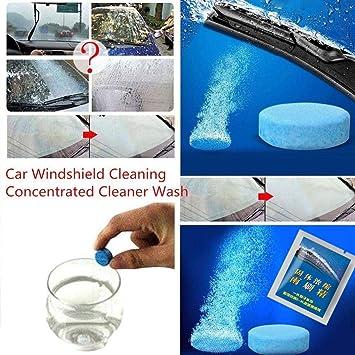 Y56 Auto Parabrisas de Cristal Lavado Lavado Ropa konzentrierte Ducha Pastillas Limpie, 5 Pc, Medium: Amazon.es: Hogar