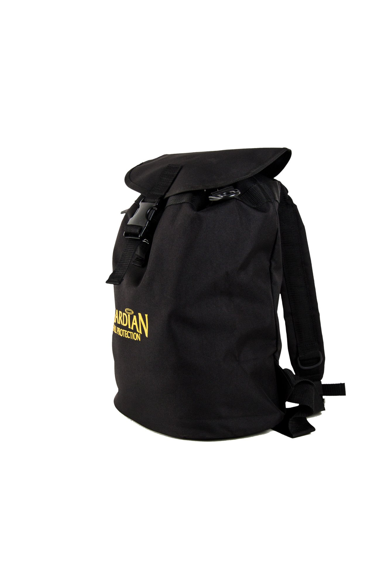 Guardian Fall Protection 00768 Ultra Sack Small Black Canvas Duffel Back Pack