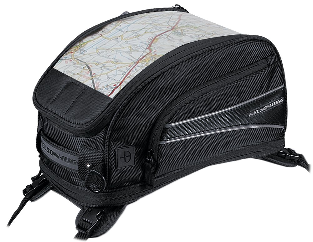 Nelson-Rigg CL-2015-MG Black Magnetic Mount Journey Sport Tank Bag Nelson Rigg