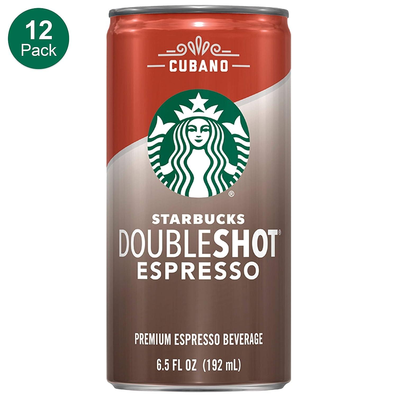 Starbucks Doubleshot Espresso Cream Light 6 5 Ounce 12 Pack