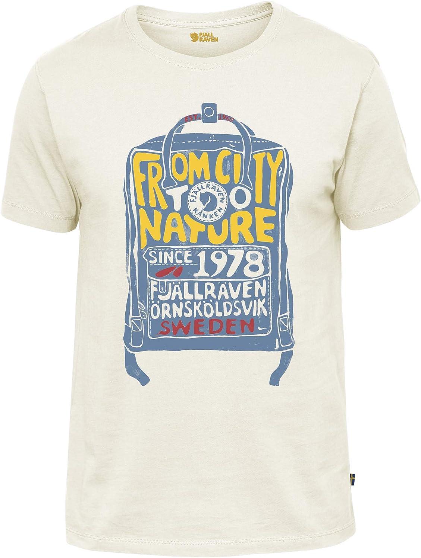 FJALLRAVEN K/ånken T-Shirt M Camiseta Hombre