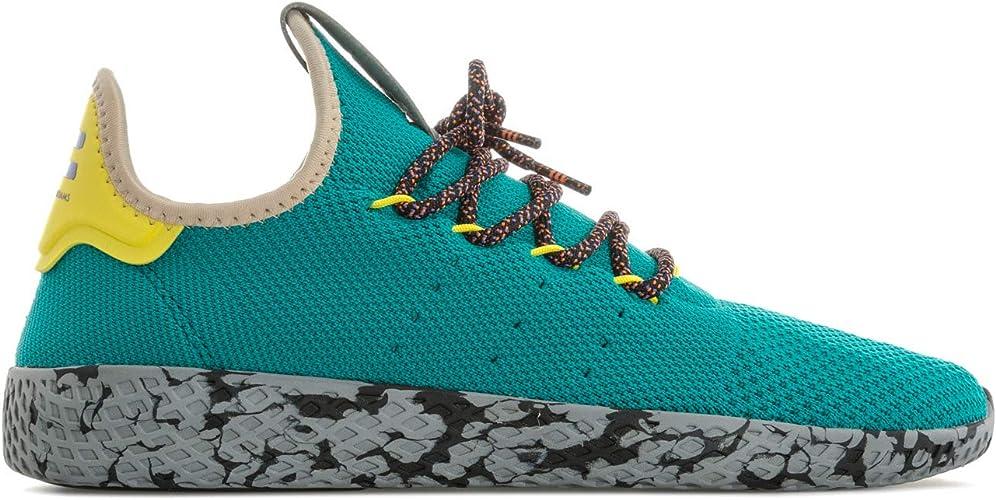 adidas Originals Baskets Pharrell Williams Tennis HU Turquoise Homme