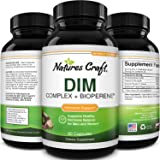DIM Supplement with BioPerine and Broccoli Extract - Natural Diindolylmethane Womens Health Support and Skin Care for Women a