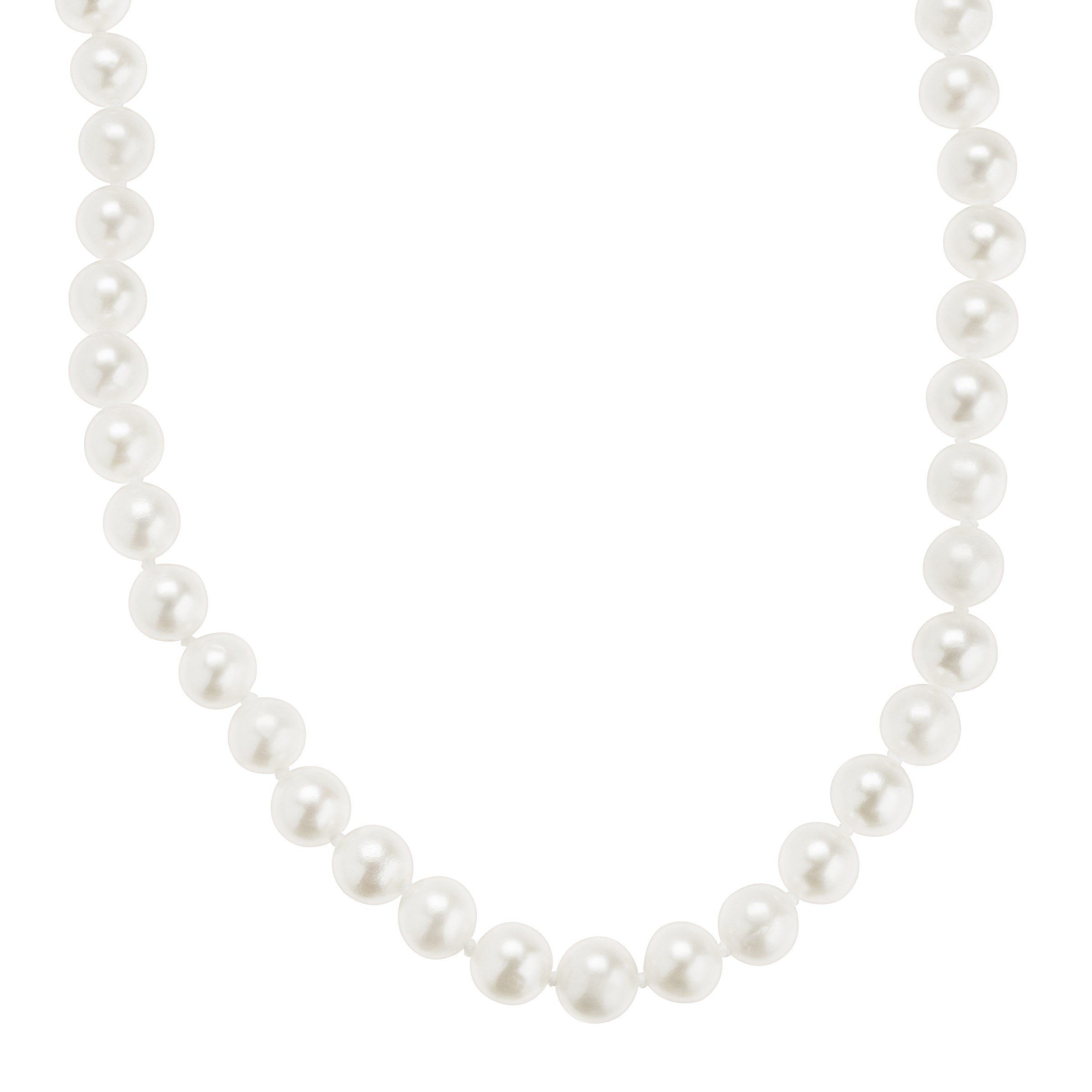 Honora 6-7 mm Freshwater Cultured Pearl Classic Strand Necklace in 10K Gold