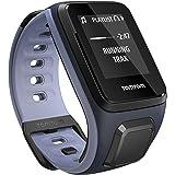 TomTom Spark Cardio + Music, GPS Fitness Watch + Heart Rate Monitor + 3GB Music Storage (Small, Sky Captain/Purple Haze)