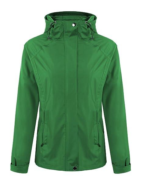 Reißverschluss Sport Damen Mit Outdoor Tomasa Mantel Jacke Kapuze Softshell Leichtgewichtige Übergangsjacke Regenjacke 54ARjqcL3S