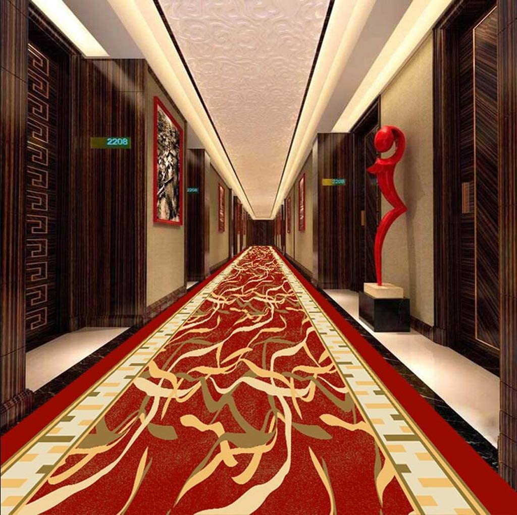 Soft and Cut Mbd Corridor Long Kitchen Rubber Backing Polyester Fiber Non-Slip Wear-Resistant Custom Color : A, Size : 1x4m