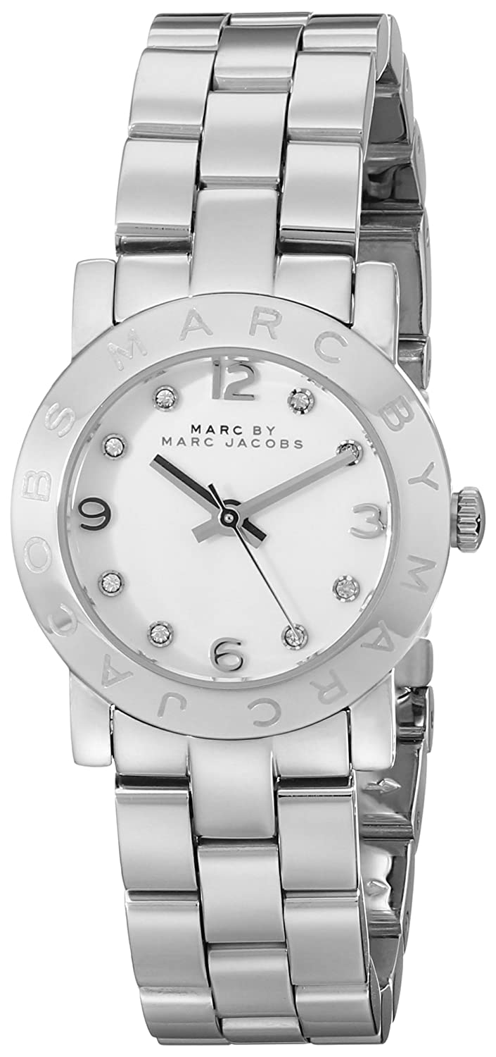 37832a1639e8c Amazon.com: Marc by Marc Jacobs Women's MBM3055 Amy Stainless Steel Watch  with Link Bracelet: Marc by Marc Jacobs: Watches
