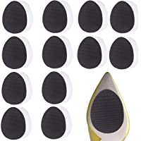 12 Pairs Self-Adhesive Non-Skid Shoe Pads Anti Slip Shoe Grips for Shoes, Anti-Shedding Skid Proof Rubber Sole…