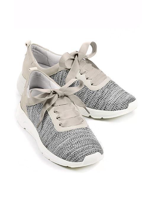 Avena Damen Klima Sneaker Schwungvoll Grau 36: Avena: Amazon