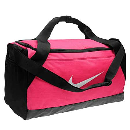 41978cf267 Nike Brasilia Bags Holdalls Shoebag Backpack Sports Bag Kitbag Gymbag H:24  x W:48 x D:23 (cm) Small - Pink: Amazon.co.uk: Luggage