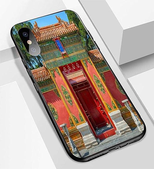 Amazon com: iPhone X/XS Ultra-Thin Glass Back Phone case