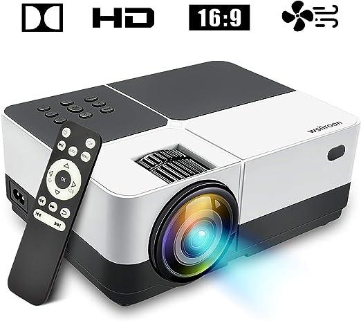 Y&XF Proyector LED, el más Nuevo proyector de Video portátil al ...