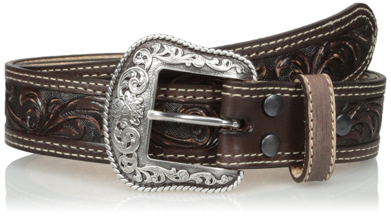 Nocona Men's Pecos USA Belt, Brown, 34