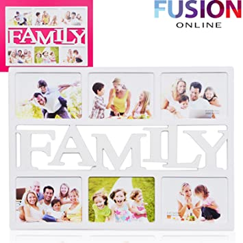 MULTI PHOTOFRAME FAMILY FRAMES COLLAGE 6 PICTURE: Amazon.co.uk ...