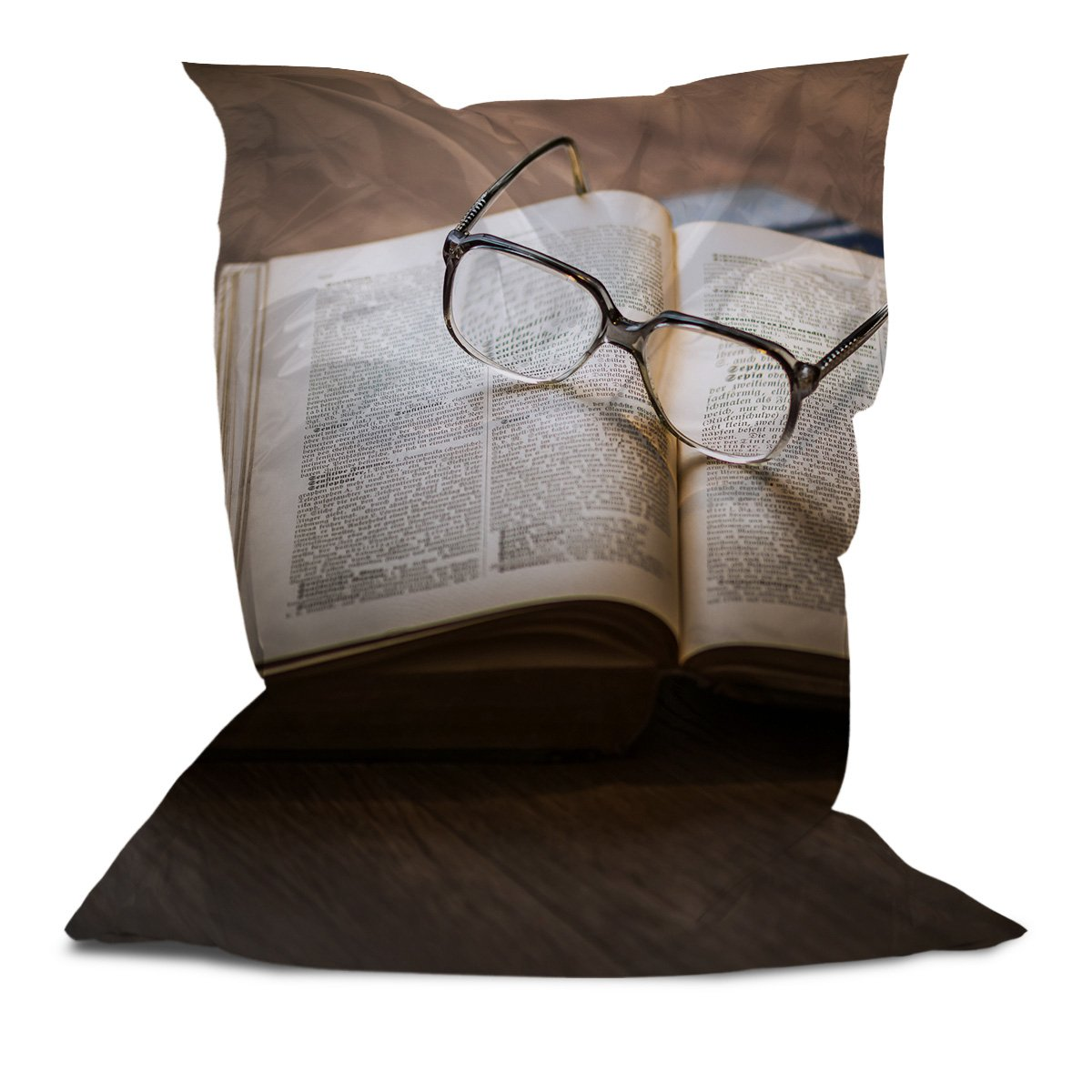 Branded Bean Bag with Printed Specs (5' x 4.4')