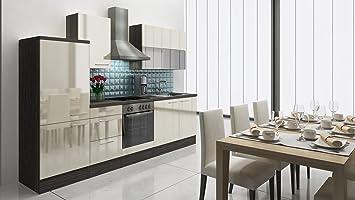 respekta Premium Cucina Riga 280 cm in Legno di Rovere ...