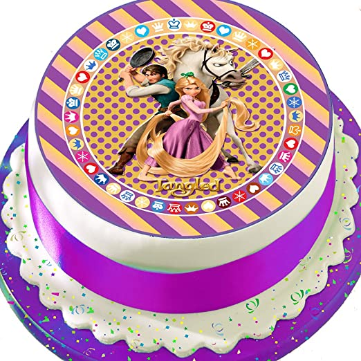 Oblea comestible precortada para decoración de tartas, con ...
