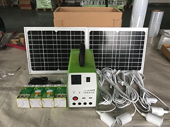 Kit solar 150w + alarma GSM para casa de campo o finca + cámara IP 720 + sirena de luz exterior 120db / pilas incluidas / App alarma gratuita iOS ANDROID ...