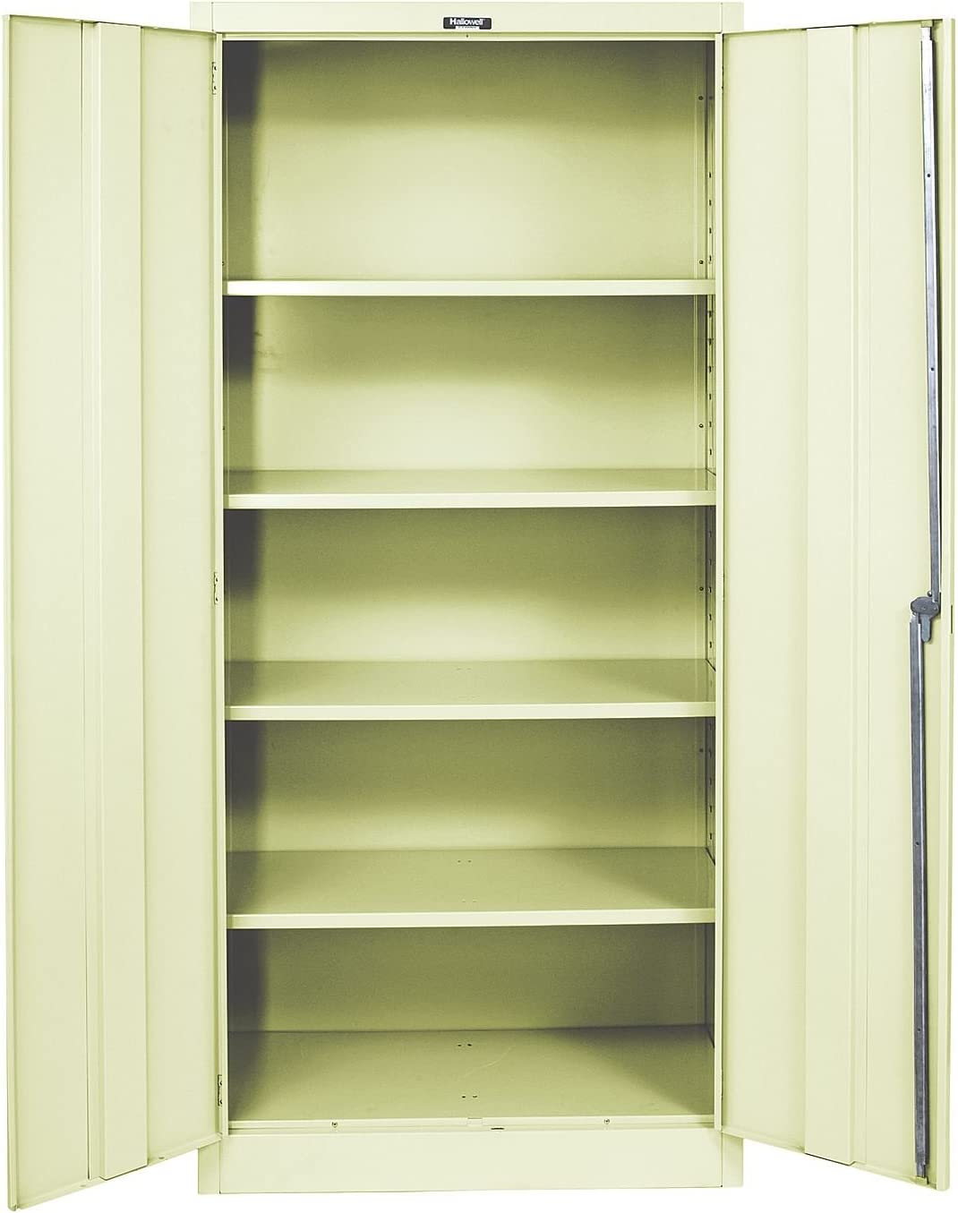 Amazon Com 400 Series 2 Door Storage Cabinet Color Parchment Office Products