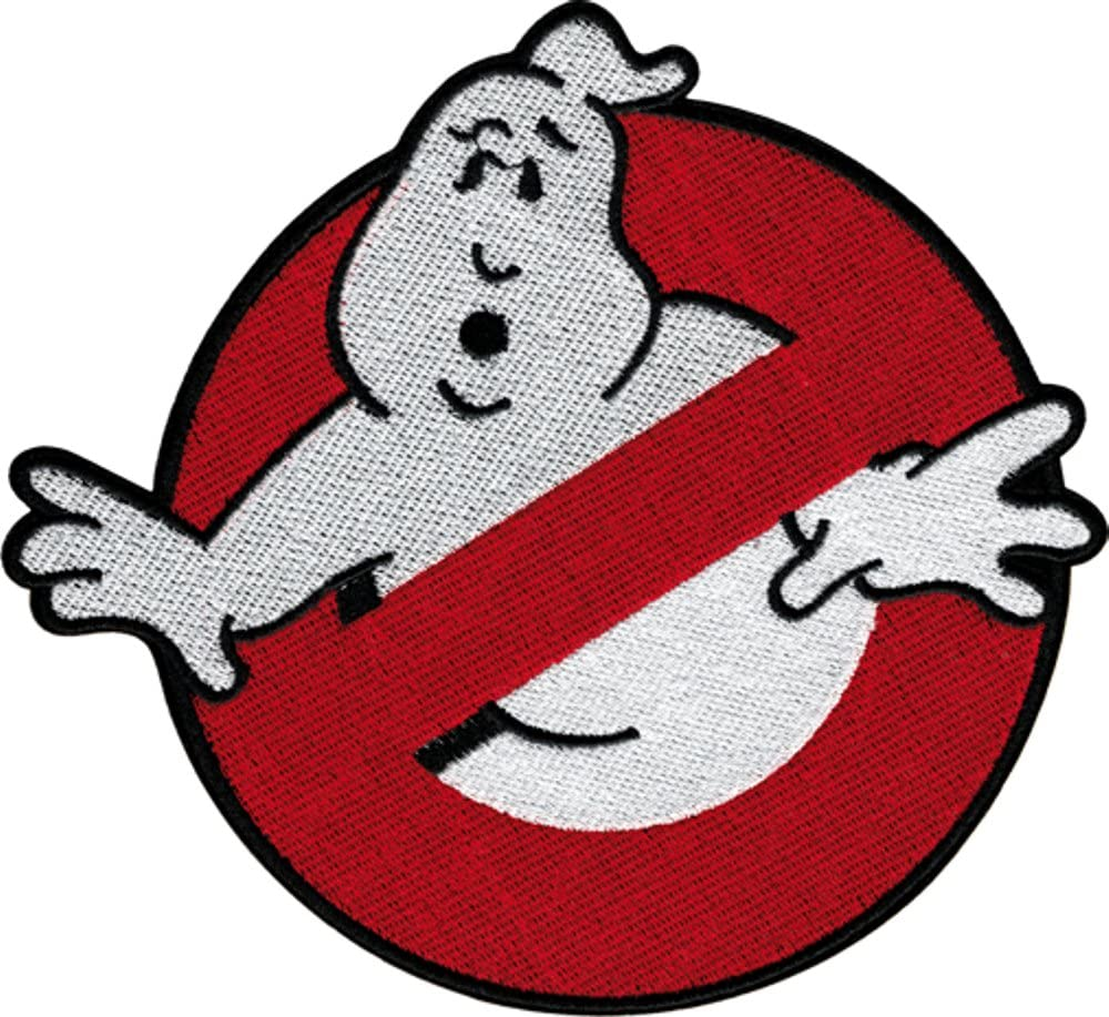 Screen Accurate 4 Ghostbusters-No Ghosts Embroidered Patch