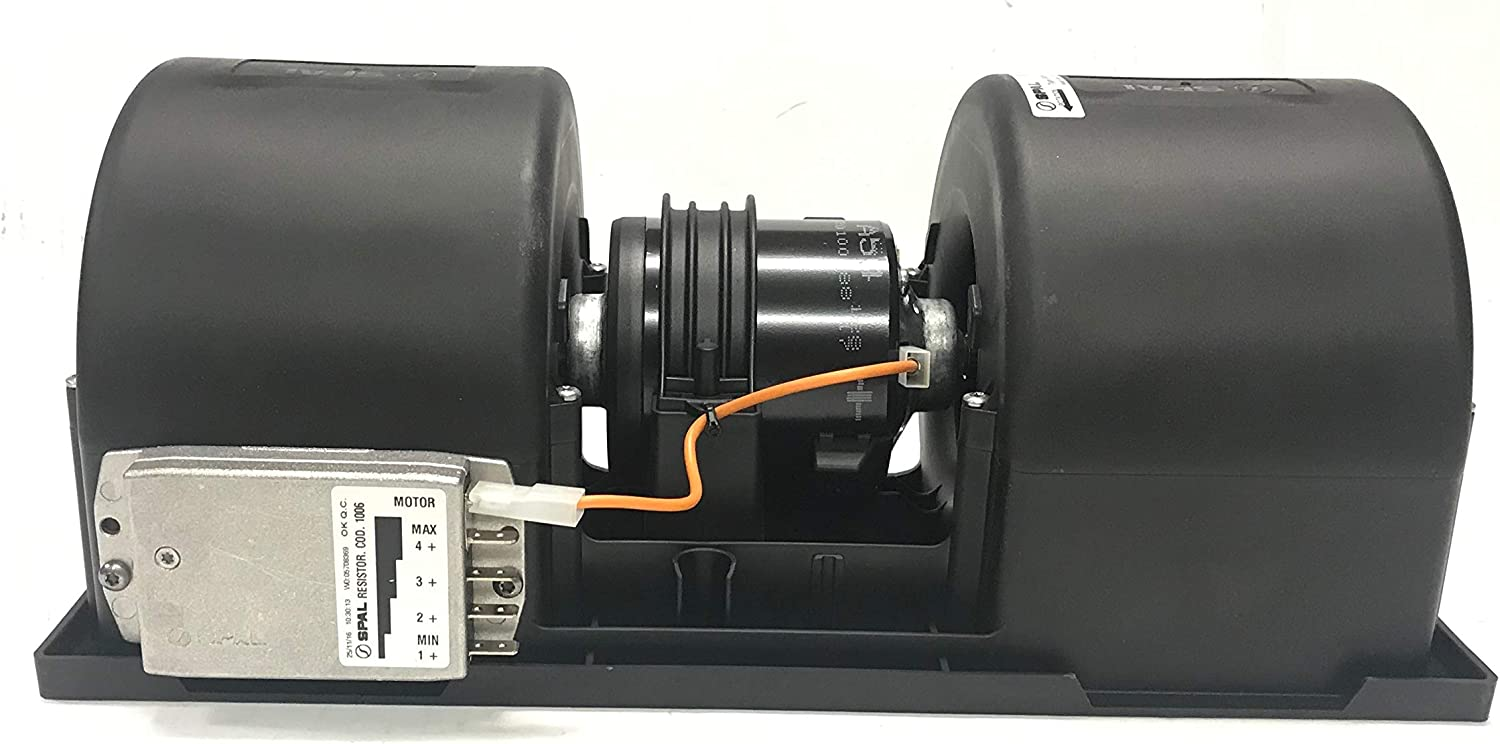 REPLACEMENT 12 VOLT 006-A54-22 SPAL CENTRIFUGAL BLOWER ASSEMBLY 1 SPEED 160511